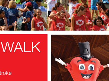 AHA heartwalk return on investment