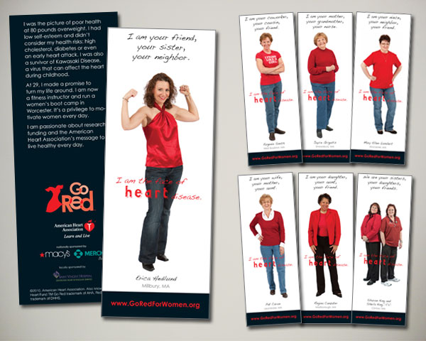 american heart association bookmarks