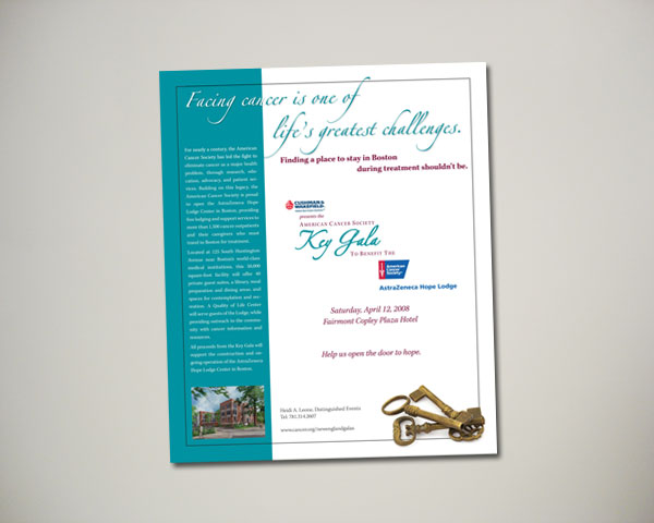 key gala ad design