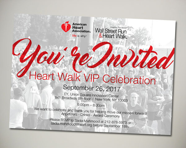 american heart association lawyers have heart networking invitation design