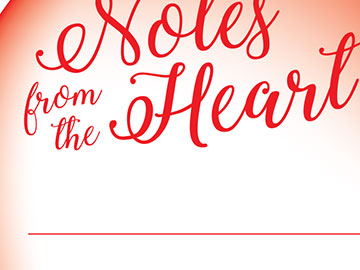 american heart association notes from the heart banner design