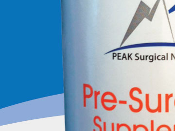 peak surgical nutrition supplements