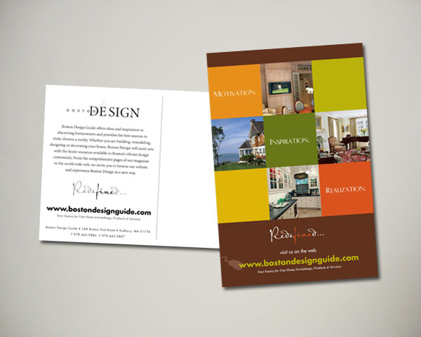 boston design postcard