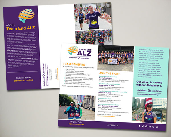 american heart association lawyers have heart 5k brochure design