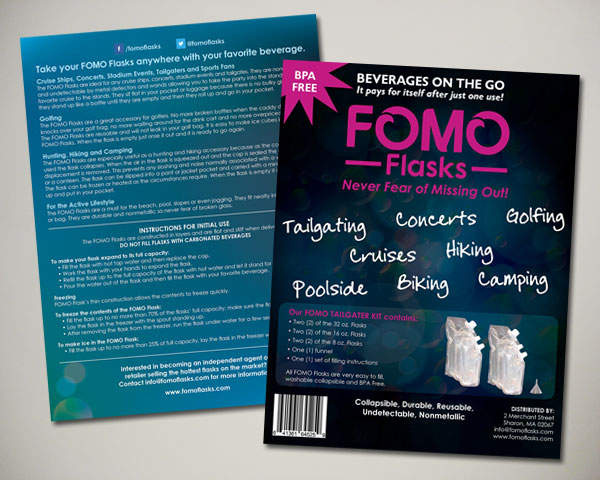fomo flasks packaging