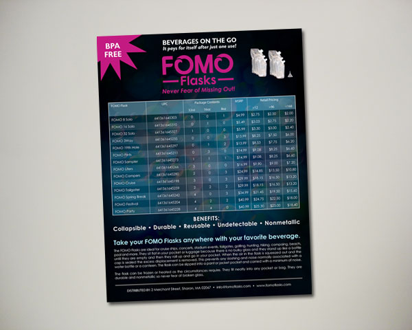 fomo flasks sell sheet