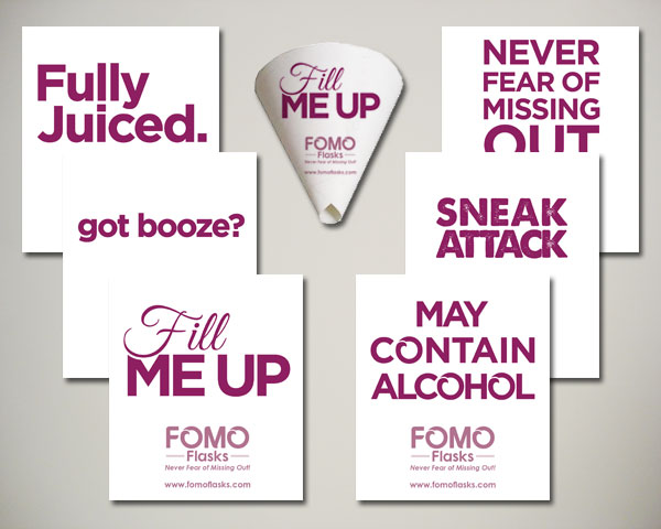 fomo flasks funnels