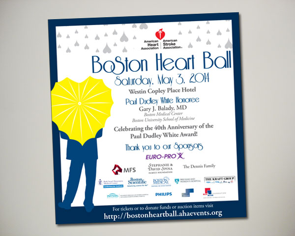 boston heart ball ad