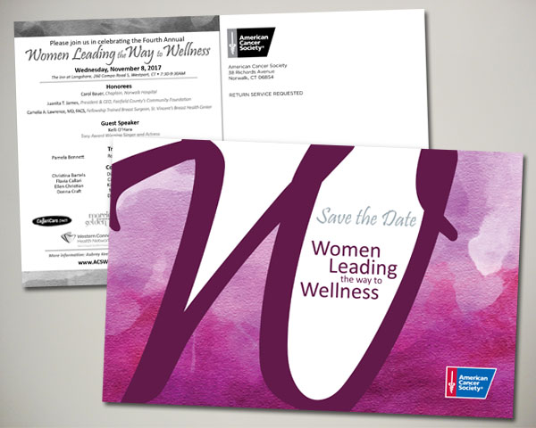 cancer society non profit women leading the way to wellness luncheon save the date