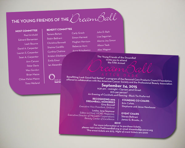 dreamball dreamball after dark invitation non profit