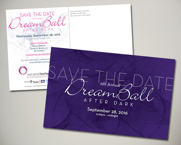 dreamball after dark save the date non profit