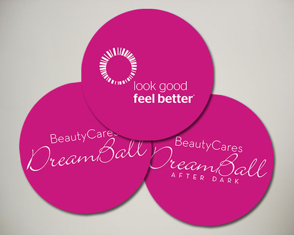 look good feel better beautycares dreamball afterdark floor decal design design non profit