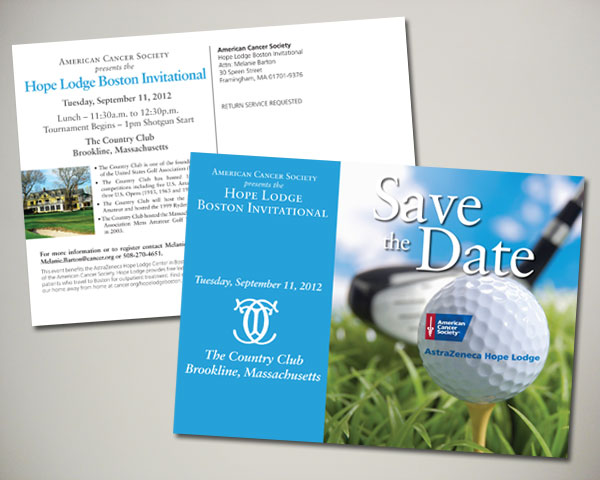 golf invitational save the date