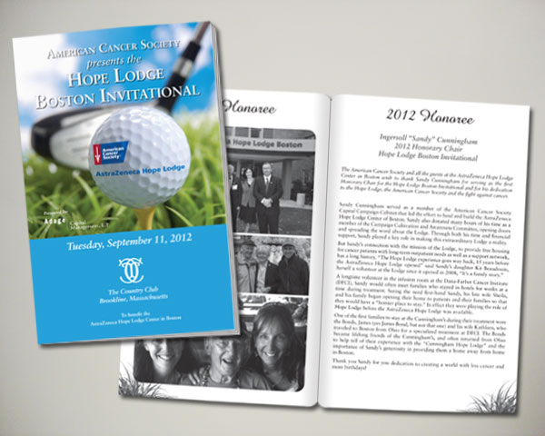 golf invitational program book