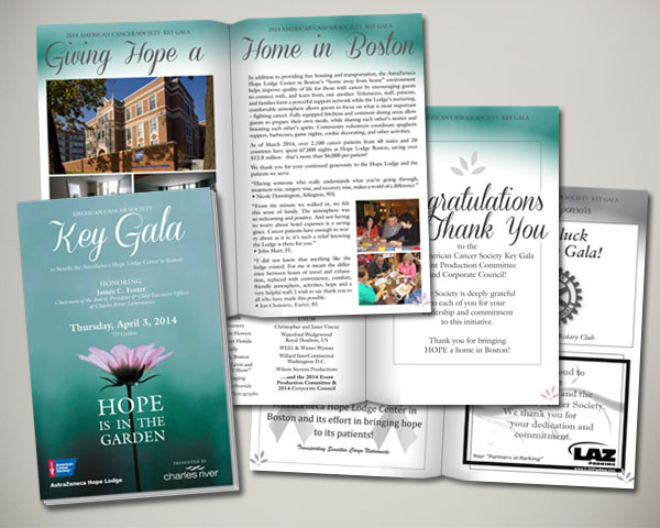 key gala program book
