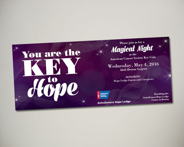 key gala website facebook graphics non profit design