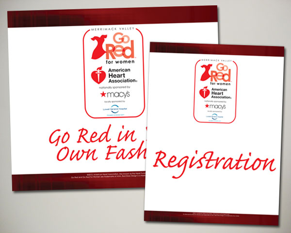 merrimack valley go red in your own fashion signs