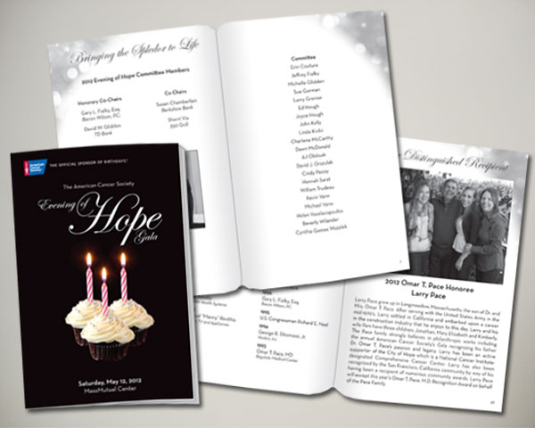 springfield evening hope gala program book