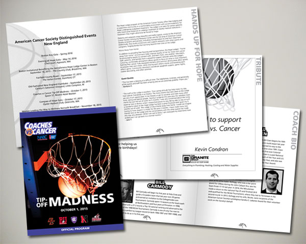 american cancer society non profit coaches vs. cancer program book