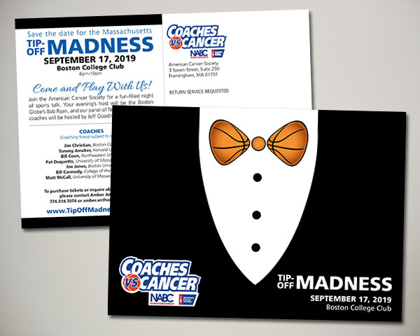 american cancer society non profit coaches vs. cancer tip-off madness save the date