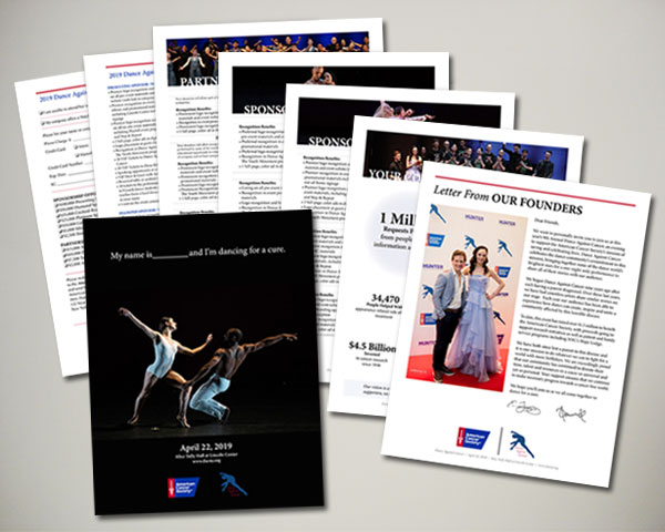 american cancer society non profit dance against cancer sponsorship