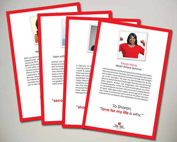 american heart association nyc vip signage design nonprofit