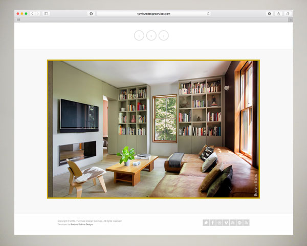 custom website design furniture millwork