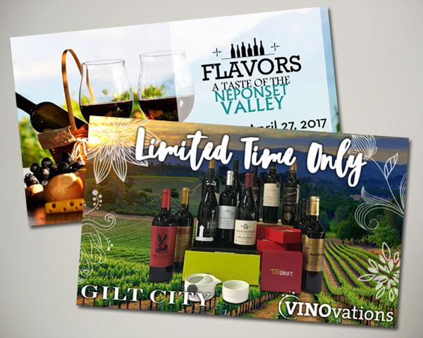vinovations flavors neponsett valley gilt spring website banner design